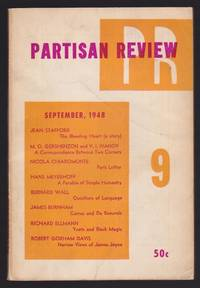 """Partisan Review 9 : Includes """"Black Magic Against White: Aleister Crowley Versus W.B...."""
