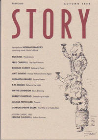 Story Magazine : Autumn 1989 First Issue of Relaunched Series
