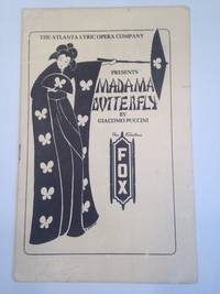image of MADAMA BUTTERFLY. Presented by Atlanta Lyric Opera Company Fabulous Fox Theatre
