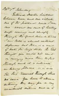 Manuscript Travel  Journal of Boston and New York City