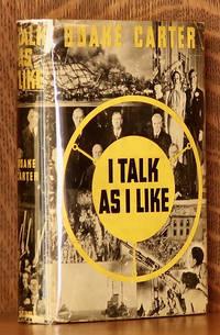 image of I TALK AS I LIKE