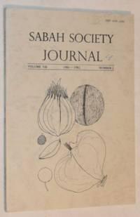 Sabah Society Journal volume VII number 2 1981-1982
