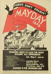 image of Fight, don't starve! May Day 1975 [poster]