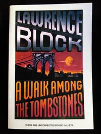 A Walk Among the Tombstones SIGNED