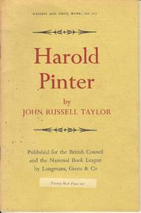Harold Pinter (Writers and Their Work: No 212)