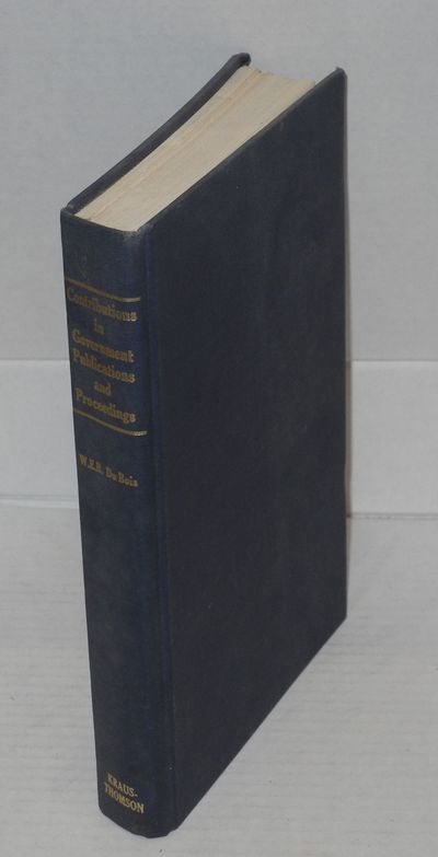 Milwood, NY: Kraus-Thomson Organization, 1980. Hardcover. 411p., introduction, tables, some folding,...