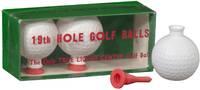 19th Hole Golf Balls: The Only True Liquid Center Golf Balls