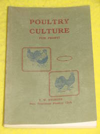 Poultry Culture for Profit. A Guide for the Amateur Poultry Keeper.
