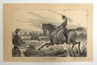 """""""The Duke 'Comes to Grief'"""" Engraved Plate from Peterson's Magazine, collected edition"""