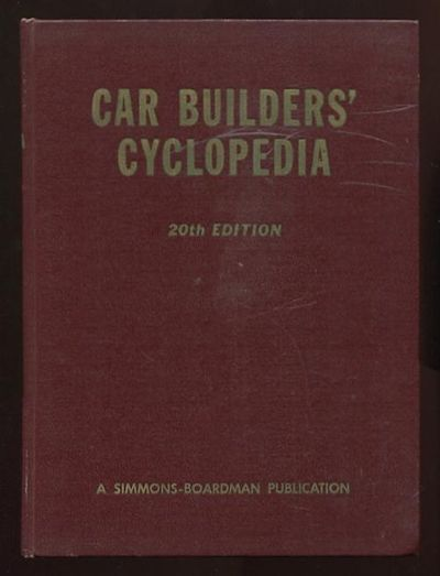 New York: Simmons-Boardman Publishing Corporation. Very Good+. 1957. Twentieth Edition. Hardcover. (...