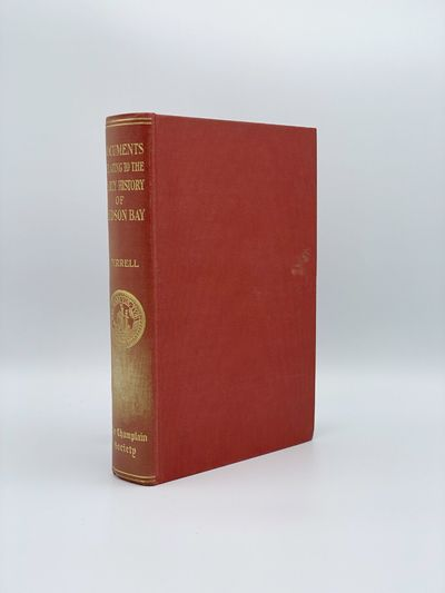 Toronto: The Champlain Society, 1931. A fine copy save an area of pale discoloration on the spine. 8...
