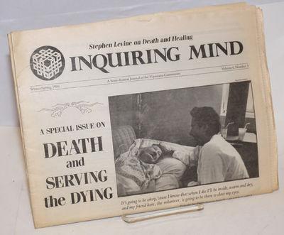 Berkeley: Dharma Foundation, 1990. Newspaper. 32p., folded tabloid, lightly toned, illus., mailing l...