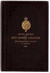 Twenty-fifth Annual Report of the Fruit Growers' Association of Ontario 1893; Twenty-fourth Annual Report of the Entomological Society of Ontario 1893