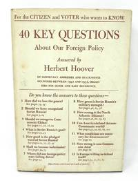 40 Key Questions About Our Foreign Policy