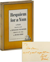 image of Requiem for a Nun: A Play [Inscribed by Ruth Ford]