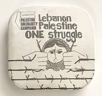 image of Lebanon, Palestine / One struggle [pinback button]