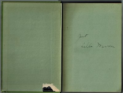 New York: Simon & Schuster, 1926. SIGNED BY AUTHOR at front end page -