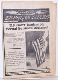 image of San Francisco Express Times, vol. 1, #9, March 21, 1968: U.S. Govt. Bankrupt: Vernal Equinox Declared