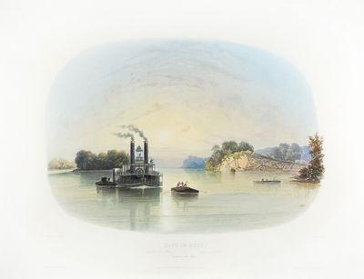 "Coblenz, London and Paris: . Vignette aquatint on paper 11 7/8 x 17 1/4"", hand-colored, with print..."