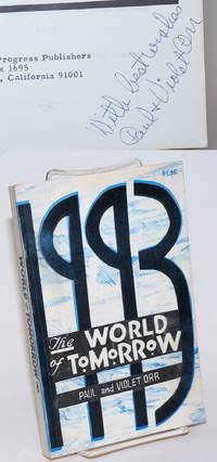 1993; the world of tomorrow, timely look into the future