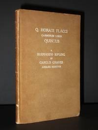 Horati Flacci Carminum Librum Quintum