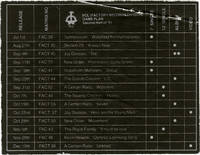 Game Plan: Second Half of '81 [1981] (Original promotional sticker)