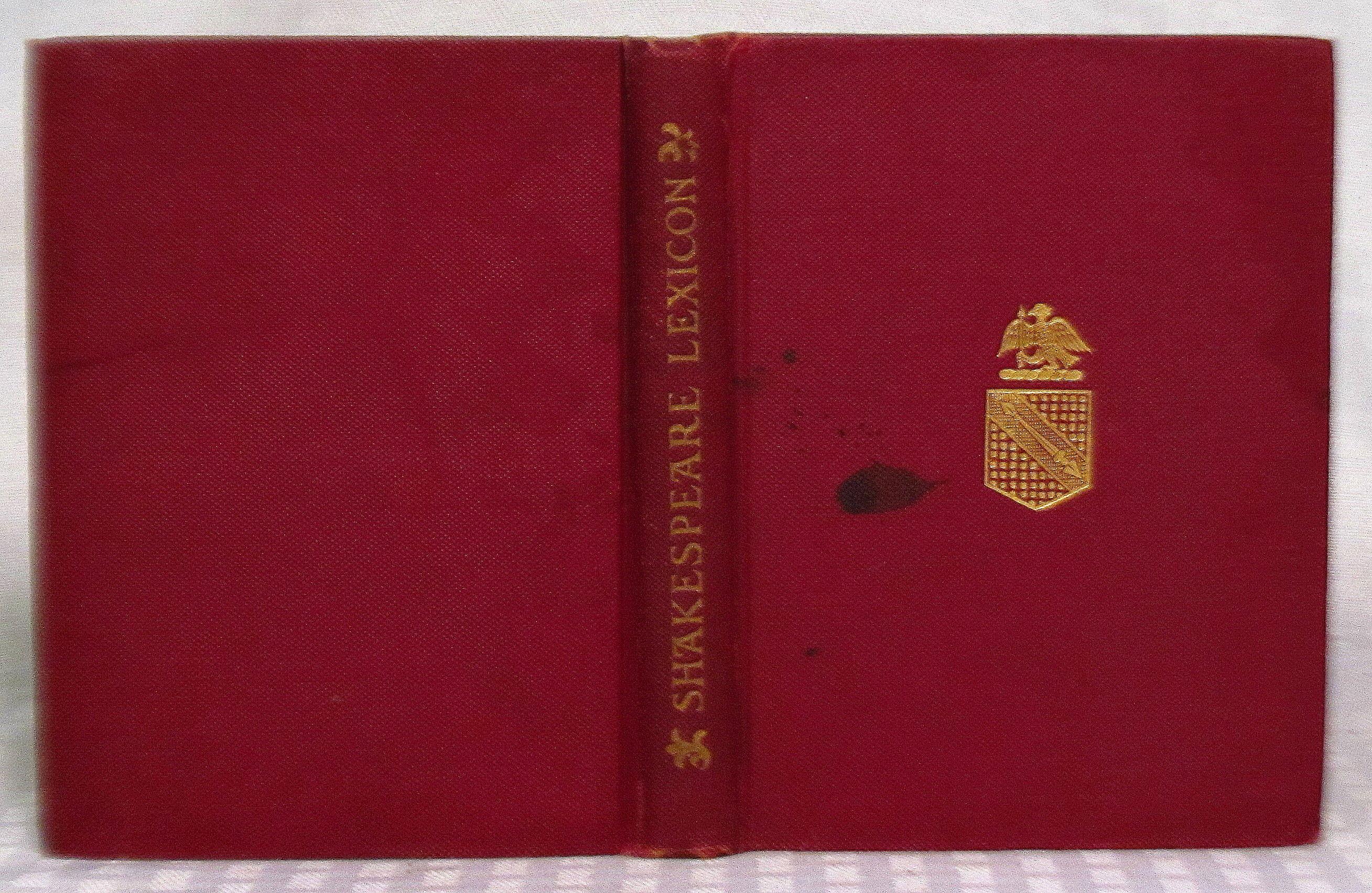 shakespeare concordance Mary victoria cowden clarke (n   e novello), born 1809 married charles  cowden clarke, 1828 publications: complete concordance to shakespeare,  1845.