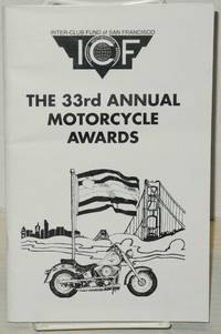 The 33rd Annual Motorcycle Awards [program] SomArts Cultural Center, San Francisco, February 13, 1999