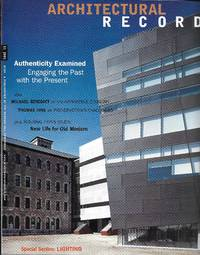 "image of ""Architectural Record, November 2001: Vol. 189, No. 11"""