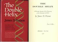The Double Helix. Signed by James D. Watson on title page