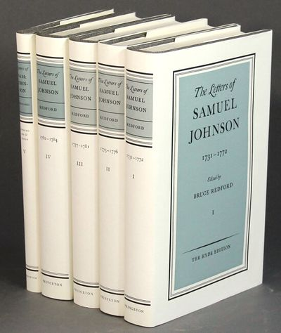 Princeton University Press, 1992. The Hyde Edition, first editions throughout; 5 volumes, 8vo, each ...