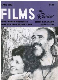 Films in Review April, 1976 (Sean Connery, cover) Women Movie Directors