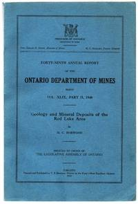 Forty-Ninth Annual Report of the Ontario Department of Mines: Geology and Mineral Deposits of the Red Lake Area