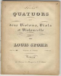 [Op. 74, no. 3]. Trois Quatuors pour deux Violons, Viola et Violoncelle... Oeuv. 74 No. I[II.] Pr. 1 Rthl. 20 gr