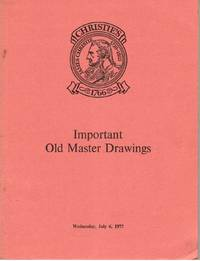 Important Old Master Drawings. 6 July 1977.