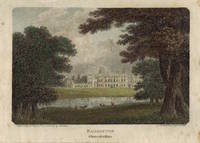 View of  the Country House, Badminton House, after J. Britton by W. Angus.
