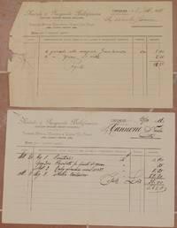 NATALE E PASQUALE BELLIFEMINE ACCESSORI MACCHINE AGRICOLE INDUSTRIALI CERIGNOLA 8 SETTEMBRE 1911...