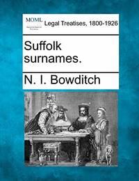Suffolk Surnames.