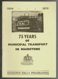 image of 75 Years of Municipal Transport in Maidstone 1904-1979: Souvenir Programme