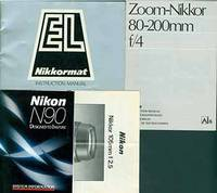 Nikon Camera manuals for the Zoom-Nikkor 80mm-200mm f/4, Nikkor 105mm f/2.5, EL Nikkormat instruction manual, System information for Nikon N90 by Nikon Corporation (Tokyo) - Paperback - from Alan Wofsy Fine Arts and Biblio.com