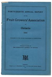 Forty-eighth Annual Report of the Fruit Growers' Association of Ontario 1916