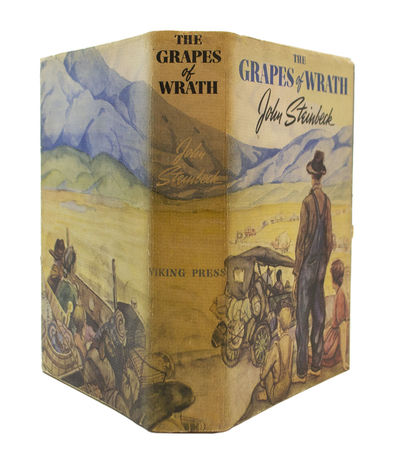 First Edition, First Issue of a Great American Novel STEINBECK, John. The Grapes of Wrath. New York:...