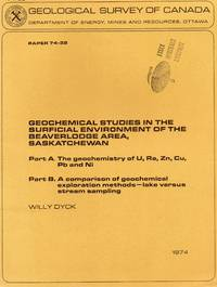 Geochemical studies in the surficial environment of the Beaverlodge area, Saskatchewan