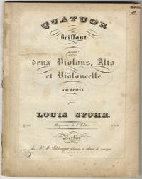 [Op. 83]. Quatuor brillant pour deux Violons, Alto et Violoncelle... Op. 83. Pr. 1 2/3 Rth