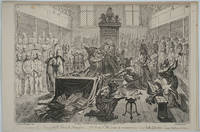 image of Consequences of a successfull [sic] French invasion. No. 1, plate 1st, We come to recover your long lost liberties; scene, the House of Commons, BOTANY BAY Reference