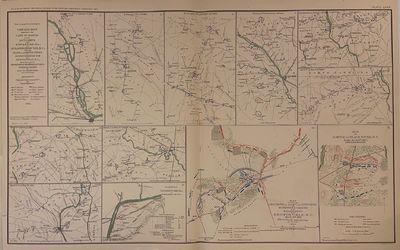 New York: Julius Bien & Co.; US War Department, 1895. Map. Color lithograph. Image measures 17 7/8