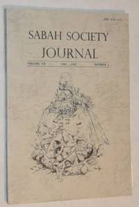 Sabah Society Journal volume VII number 1 1981-1982