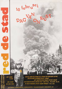 [Poster] Red de Stad: 10 Februari Dag Van on Rust [Save the City: February 10, Day of Protest]