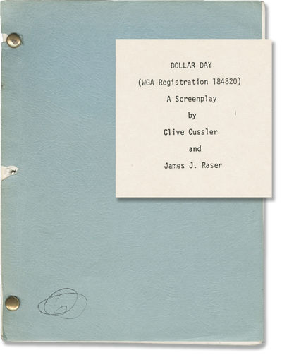 N.p.: N.p., 1980. Draft script for an unproduced film. Laid in with the script is a typed letter on ...