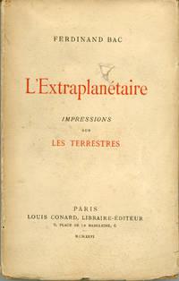 L'EXTRAPLAN�TAIRE IMPRESSIONS SUR LES TERRESTRES